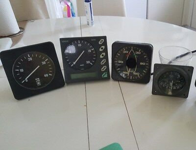Instrumente Speed, rpm, wind  silva kompas 70, VDO