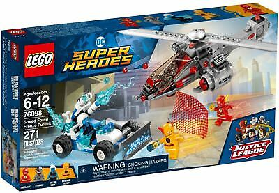 LEGO® DC COMICS Super Heroes - Speed Force Freeze Pursuit #76098 *BRAND NEW*