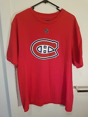 Montreal Canadiens Official NHL Reebok Supporter T-Shirt, Carey Price #31, Large