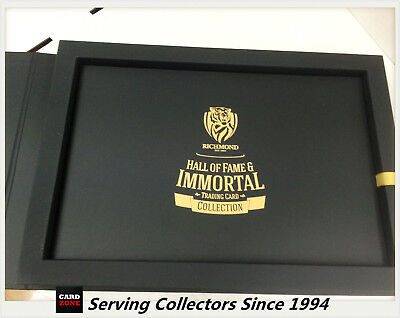 Richmond Hall Of Fame&Immortals Collector Card Album Set(129+9 Signature Cards)