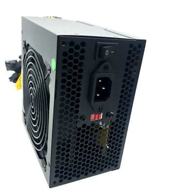 650 Watt 24//20-pin 4//8-pin ATX Computer PC System Power Supply w//SATA PCIe