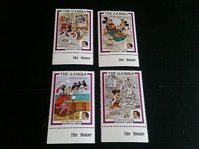 Gambia 1985 Sg 595-598 Birth Bicent Of Grimm Brothers Mnh
