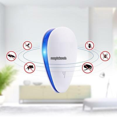 2Pcs Ultrasonic Electronic Indoor Mosquito Insect Cockroach Mosquito RLWH 01