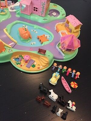 Polly Pocket Mini Polly's Dream World 1991 Bluebird