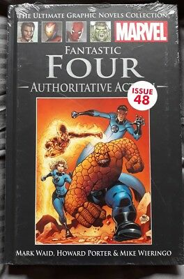 Marvel Ultimate Graphic Novels Collection Fantastic Four Authoritative Action