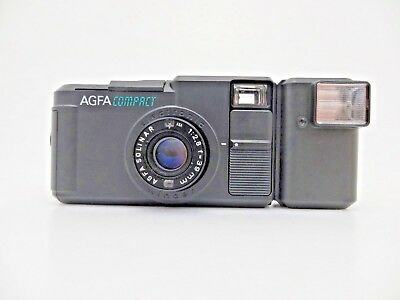 AGFA Agfa Compact 011822 Solinar Lens f 2.8 39mm Tasche Blitz OVP kd074