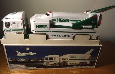 Hess Truck Toy Truck And Space Shuttle With Satellite 1999