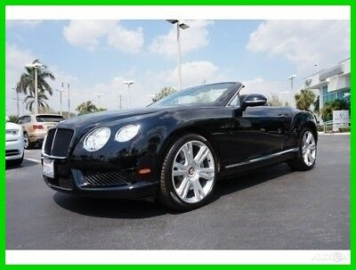 Bentley Continental GT GT V8 Convertible 2013 GT V8 Convertible Used Turbo 4L V8 32V Automatic AWD Premium