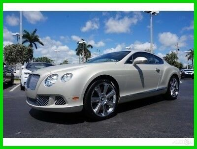 Bentley Continental GT  2012 Used Turbo 6L W12 48V Automatic AWD