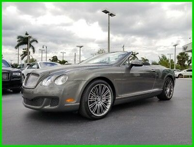 Bentley Continental GT Speed 2010 Speed Used Turbo 6L W12 48V Automatic AWD Premium