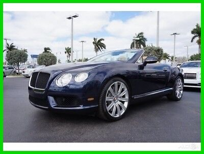 Bentley Continental GT GT V8 Convertible 2014 GT V8 Convertible Used Turbo 4L V8 32V Automatic AWD Premium