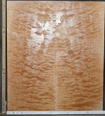 Tonewood Quilted Ahorn Maple Guitar Luthier Tonholz Acoustic Backs Top Set 3