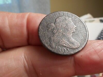 1803 American Large Cent. Thomas Jefferson was President.