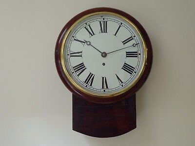10 Inch  Fusee Drop Dial Clock