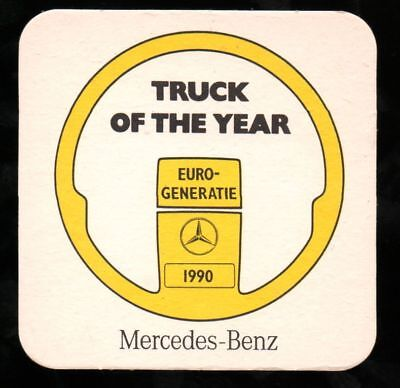 Bierdeckel 1990 Mercedes-Benz Truck of the Year *DA42
