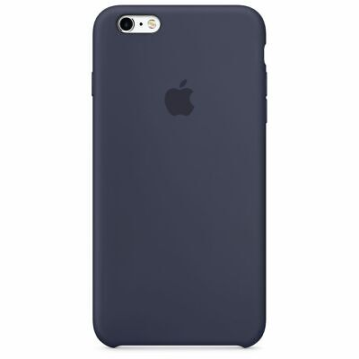 Apple Custodia Cover Per Iphone 6/6S Plus Silicone Case Originale Midnight Blue