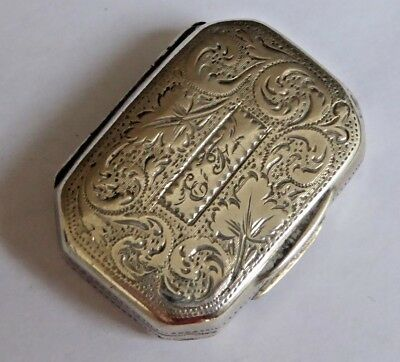 Antique Georgian Sterling Silver Vinaigrette - Ledsam & Vale 1820