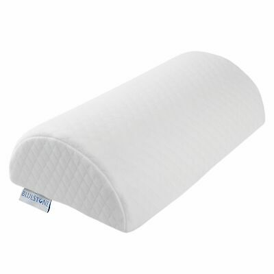 Memory Foam Lumbar Support Pillow for Knee Legs Back Pain Washable Cover