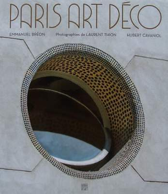 French Book: art deco paris (architecture, metalwork, stained glass, shops, deco
