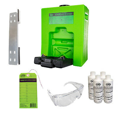 15 Gallon Emergency Eyewash Safety Station SAS 5135 Value Pack. OSHA Compliant.