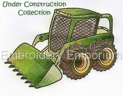 Under Construction Collection - Machine Embroidery Designs On Cd