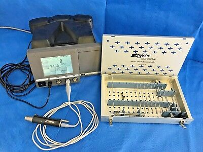 Stryker TPS Small Joint Arthroscopy Set w/ Shaver, Console, 2.3mmX30° & More