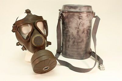 Premium NBC Gas Mask German Drager Military & Police M65 Full-Face w/NBC Filter