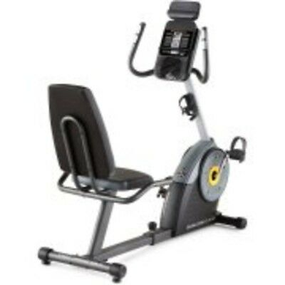GOLDS GYM RECUMBENT Exercise Bike Cycle Trainer 400 Ri Home Cardio Fitness  iFit