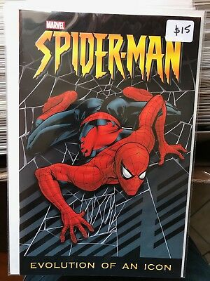 SPIDER-MAN EVOLUTION OF AN ICON NM 1st Print Frank Cho Cover