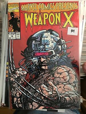 MARVEL COMICS PRESENTS #79 NM 1st Print WEAPON X Barry Windsor Smith Wolverine