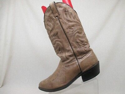 8c008da7b50 ARIAT MENS HERITAGE Pull On Roper Cowboy Boot Distressed Brown Sz 13 ...
