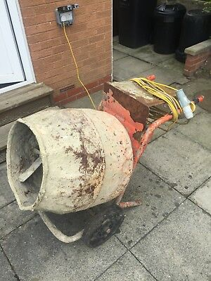 used electric cement mixer