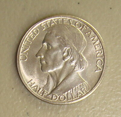1935 Daniel Boone Commemorative Silver Half Dollar Choice Uncirculated