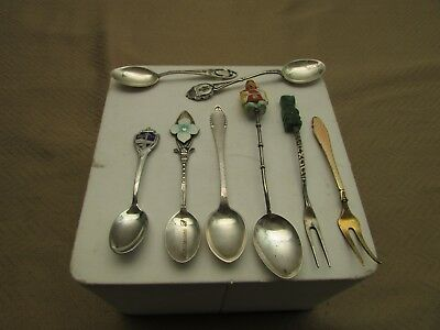 Vintage collectible forks and spoons. VK