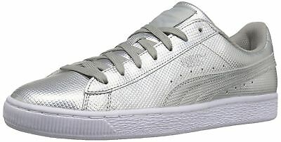 14af2400289a26 New PUMA 362860-02 BASKET CLASSIC HOLOGRAPHIC MEN S SNEAKERS Size 10.5 (M)