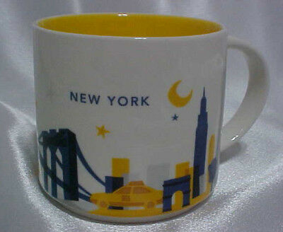 Starbucks You Are Here Collection - New York City Coffee Mug, 14 Fl Oz - MINT!