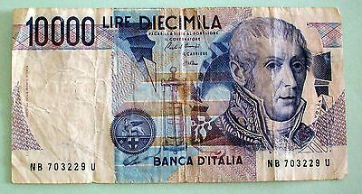 Italy 10000 Lire Bank Note - Pick 112 - 1984