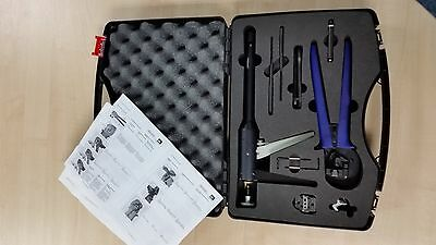 Staubli Multi Contact Solar PV MC3 MC4 Crimping Tool Kit 80% off Made in Germany