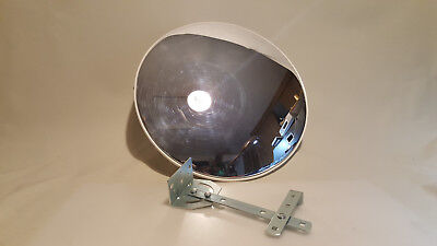 """18"""" Wall Mount Loss Prevention Convex Dome Corner Security Mirror with bracket"""