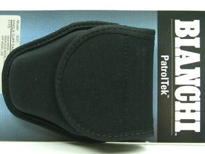 Bianchi Black 8001 Patrol Tek Single Handcuff Cuff Case w/ Key Slot 31348