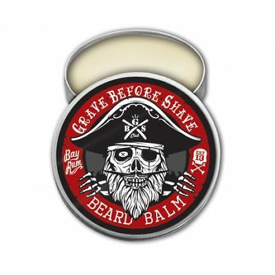 Baume Pour Barbe Bay Rum Grave Before Shave