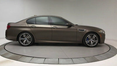 BMW M5 4dr Sedan 4dr Sedan Low Miles Gasoline 4.4L 8 Cyl Frozen Bronze Metallic