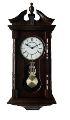Vmarketingsite Wall Clocks Grandfather Wood Wall Clock with Chime