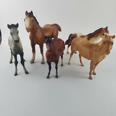 Vintage Breyer Model Horse Figure Custom Paint Clydesdale Usa Mark Molding Co.