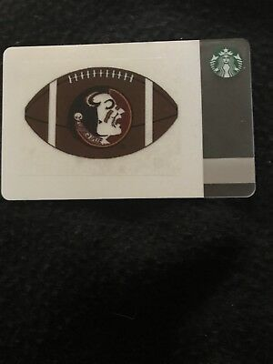 Starbucks Gift Card. No Value. Florida State University