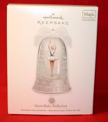 Hallmark Ornament 2012 Snowflake Ballerina---Magic With Sound And Motion