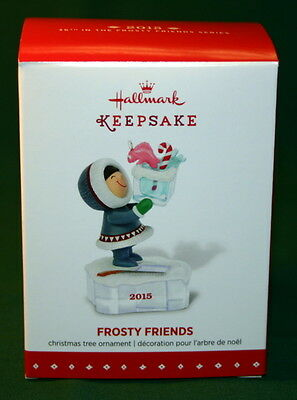 Hallmark Ornament 2015 Frosty Friends  # 36  In The Series