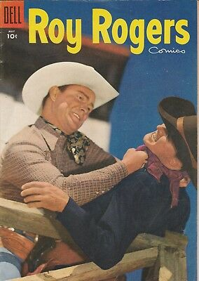 1955 No. 89 Roy Rogers Western Cowboy Dell 10 Cent Golden Age Comic Book