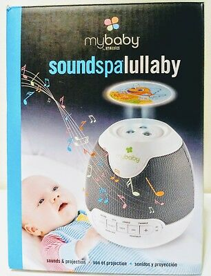 HoMedics mybaby Sound Spa Lullaby / Sounds & Projection NEW Soothing Sleep