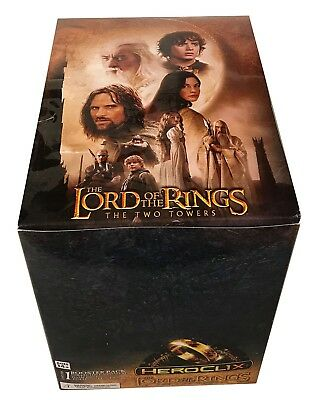 HeroClix Lord of the Rings The Two Towers Display box 30 Packs of Figures